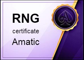 Certificate Amatic в Azino777